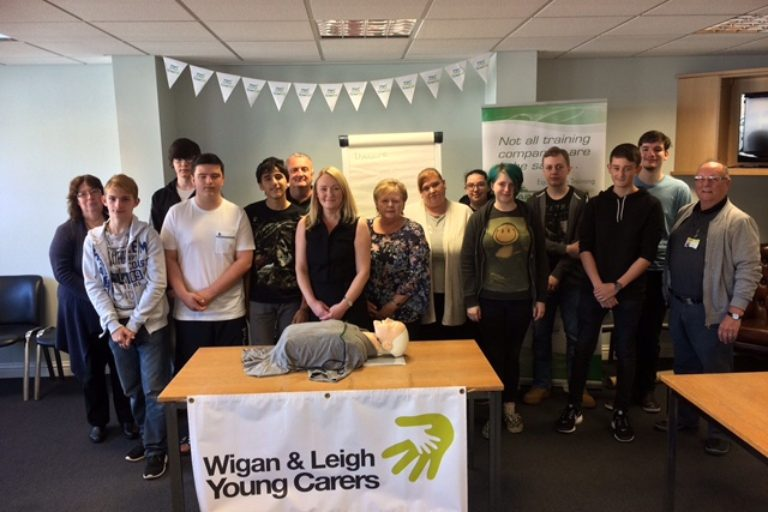 Young Carers learn how to save lives