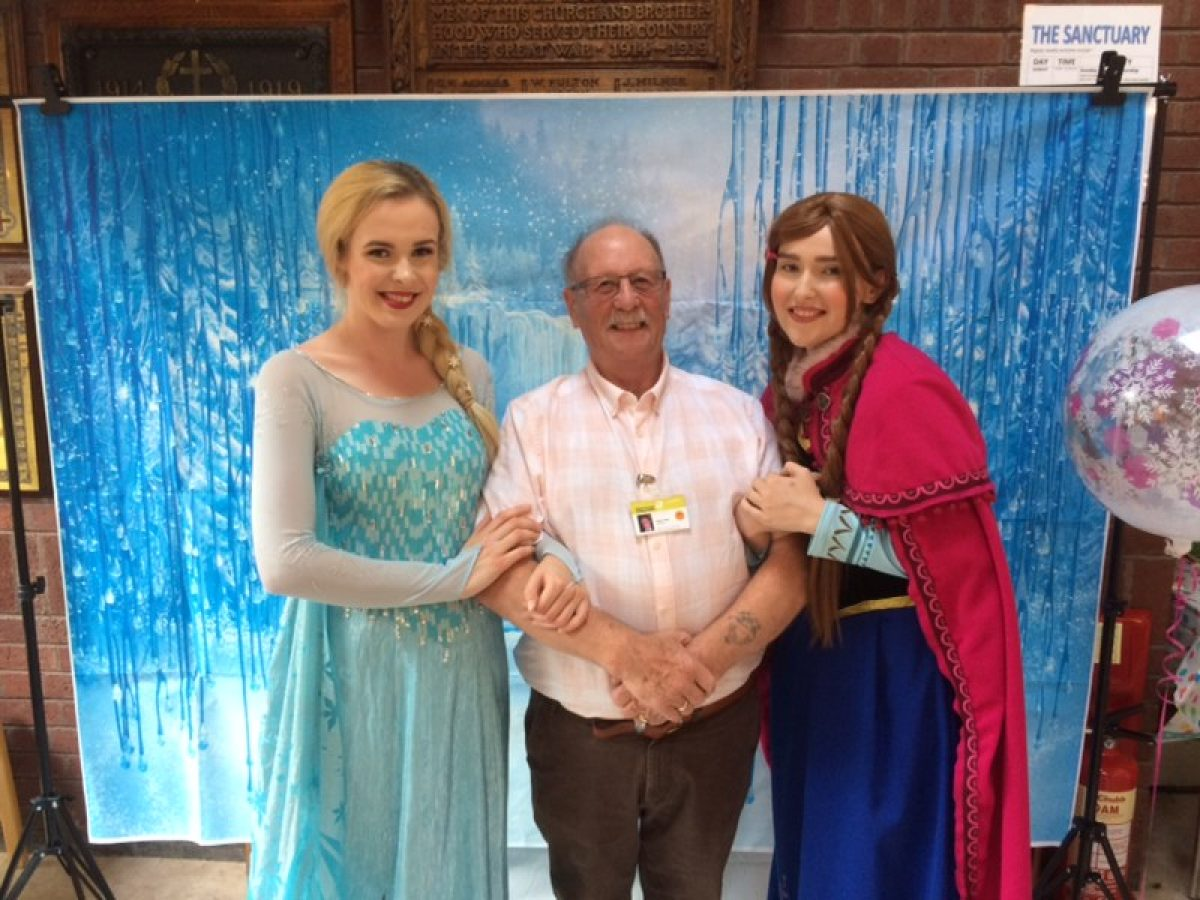 Trev meets Frozen