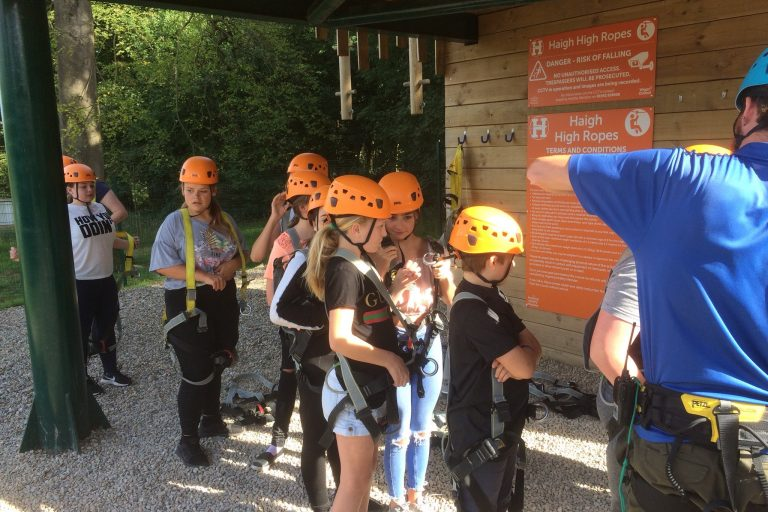 Haigh Hall High Ropes